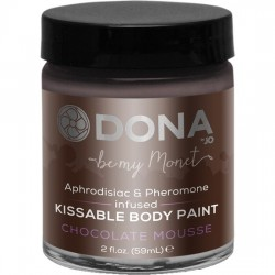 Pintura Corporal De Mousse De Chocolate 60 Ml