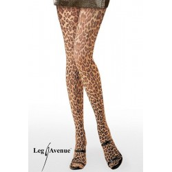 Leg Avenue Panties Con Estampado De Leopardo U