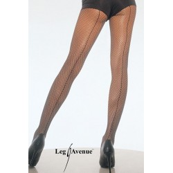 Leg Avenue Panties De Rejilla Con Costura Plus UP