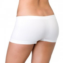 Leg Avenue Braguita Short De Color Blanco U