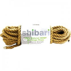 Natural Hemp Cuerda De Bondage 10m