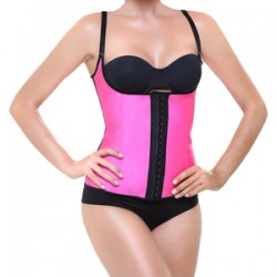 Corset Latex Shape Fucsia M