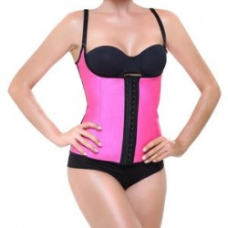 Corset Latex Shape Fucsia XL