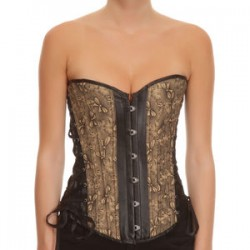 Corset Butterfly Negro S