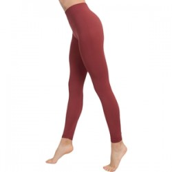 Leggins Push Up Cosmético-textil Color Marsala De Anaissa M