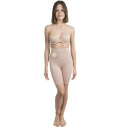 Shorty Push Up Cosmético-textil Color Beige M