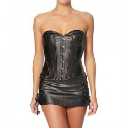 Intimax Corset Fetish Negro 5XL