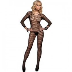 Leg Avenue Malla De Red Tipo Crochet U