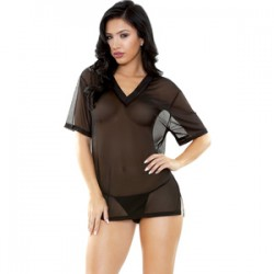 Conjunto Brandy Sleep Camiseta Y Tanga U
